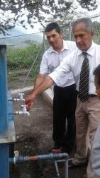 Inaguración Planta de Tratamiento de Agua en el Barrio San José de Taparuca